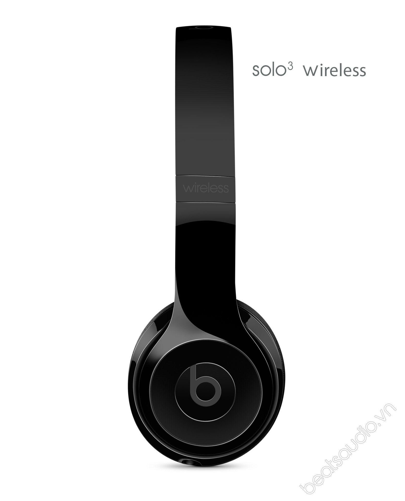 Tai Nghe Beats Solo 3 Wireless Gloss Black Chính Hãng