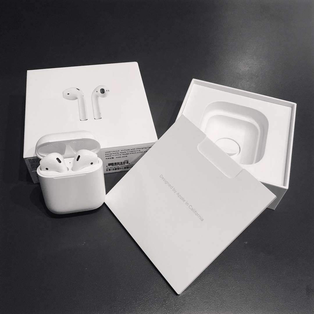 Mở hộp Tai nghe AirPods Apple